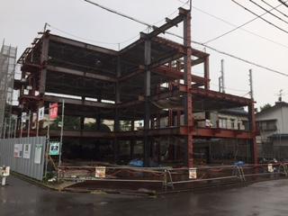 FSH(ふくいサンホーム):工事の進捗状況17-07-04