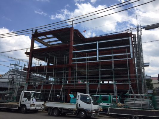 FSH(ふくいサンホーム):工事の進捗状況17-07-11