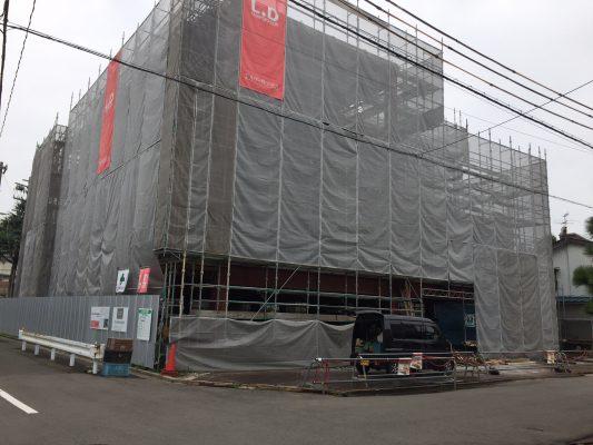FSH(ふくいサンホーム):工事の進捗状況17-07-28
