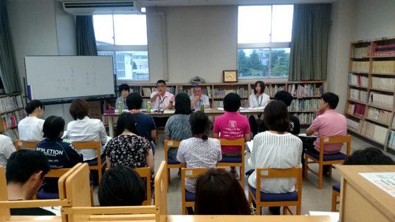 FSH(ふくいサンホーム):事業所説明会(福井特別支援学校)