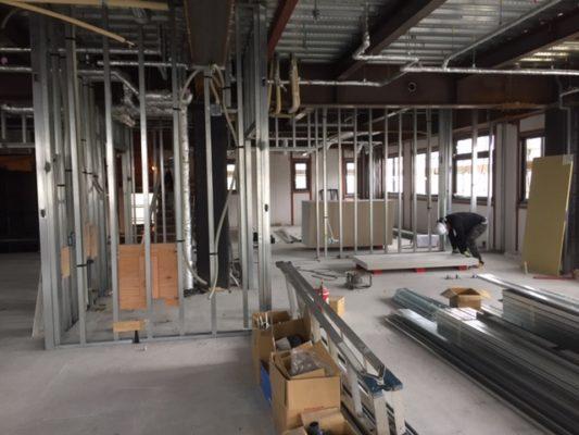FSH(ふくいサンホーム):工事の進捗状況17-08-25