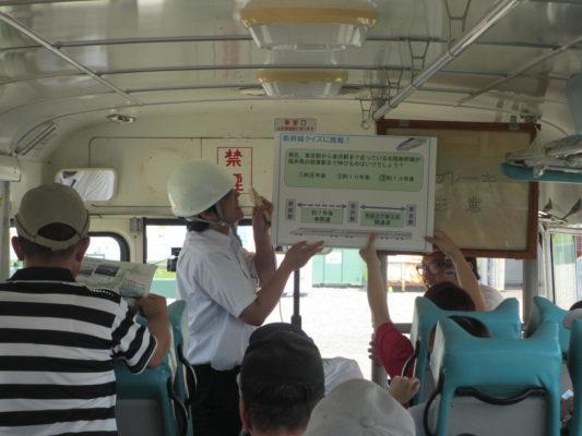 北陸新幹線工事の見学