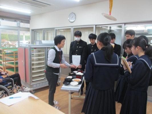 金津高等学校 地元企業見学会